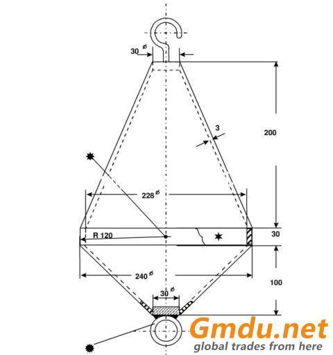 Pendulum Shock Device For Impact Test of Elevator Landing Door