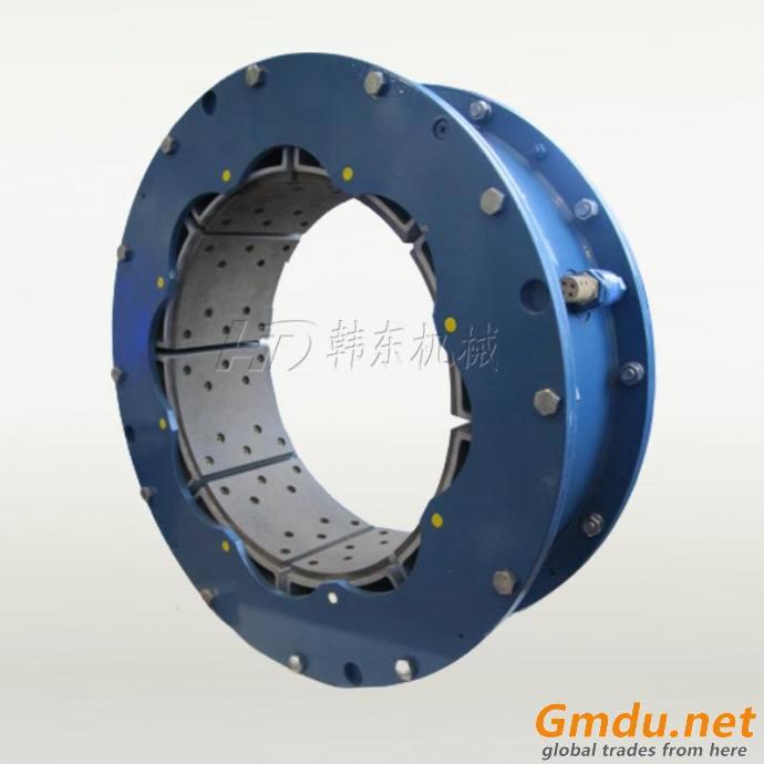 20VC1000 wide pneumatic clutch brake single element