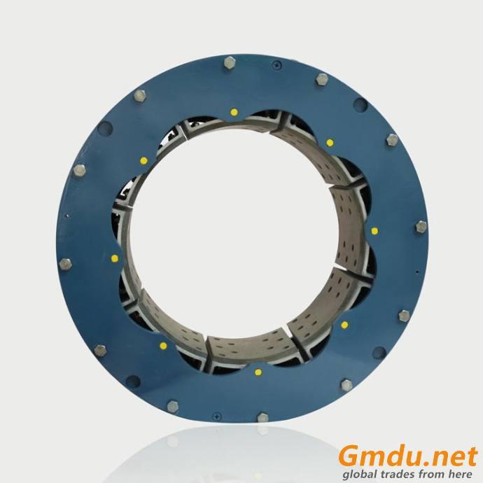 single element 24VC650 high torque rubber tube clutch