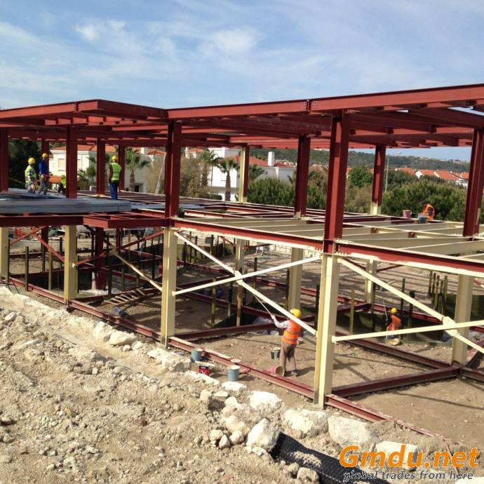 STRUCTURAL STEEL VILLA PROJECTS