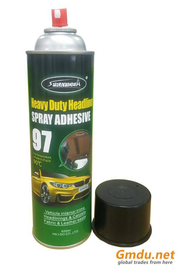 Heavy duty headliiner fabric spray adhesive