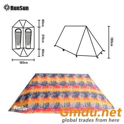 RunSun triangle tarp tent small 2 person the tent 2021