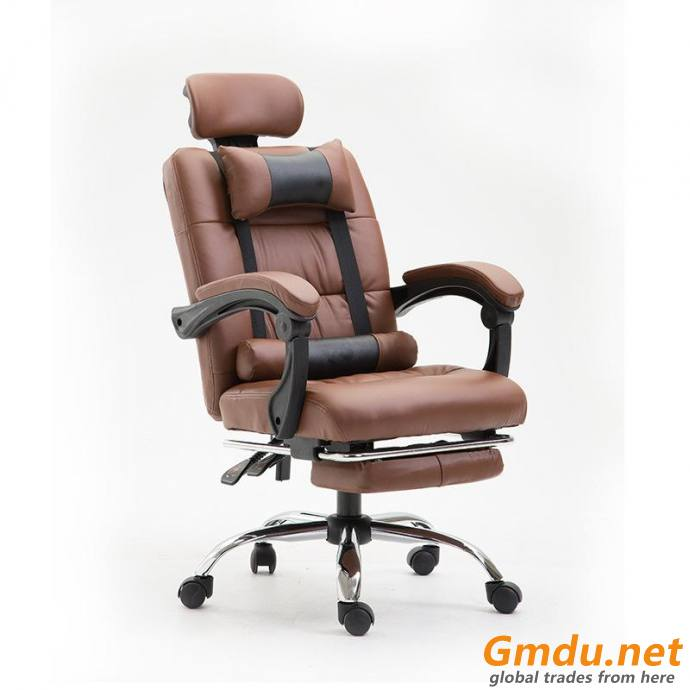 Height-adjustable office chair