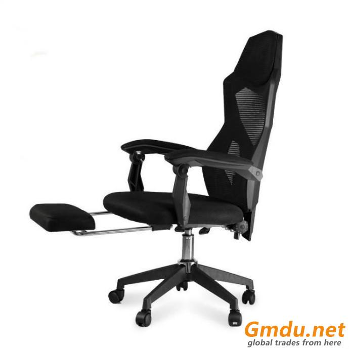 Band footrest office mesh chair