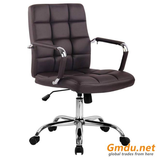 Steel base office manager chair