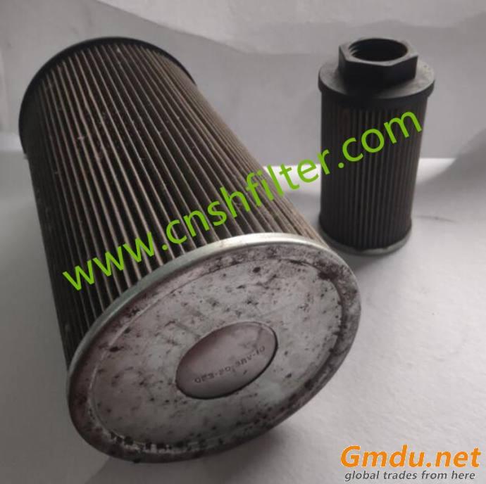 Power plant filter element DP6SH201EA10V/-W