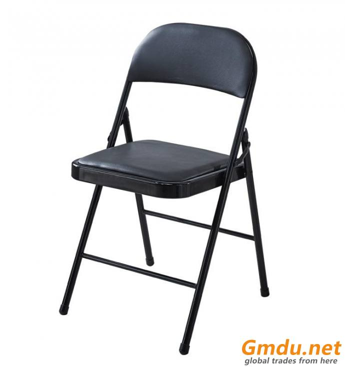 metal legs folding meeting chair