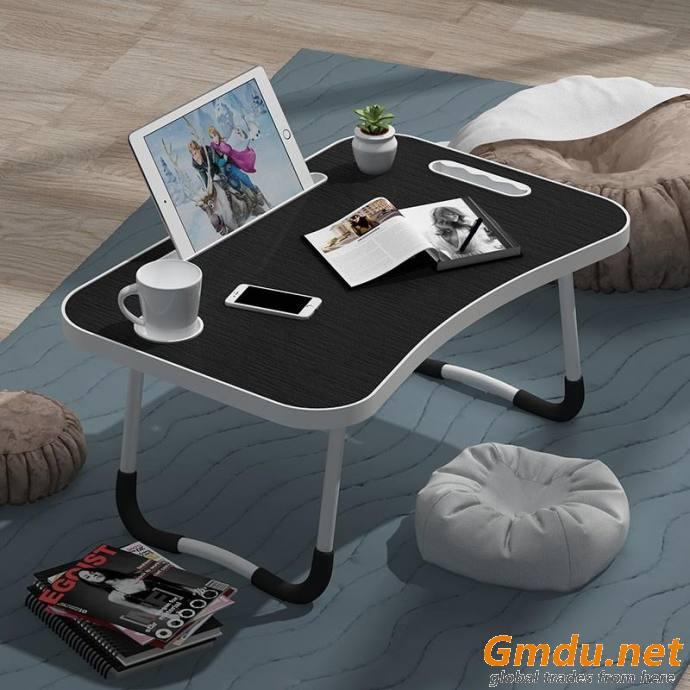 Simple folding home computer desk