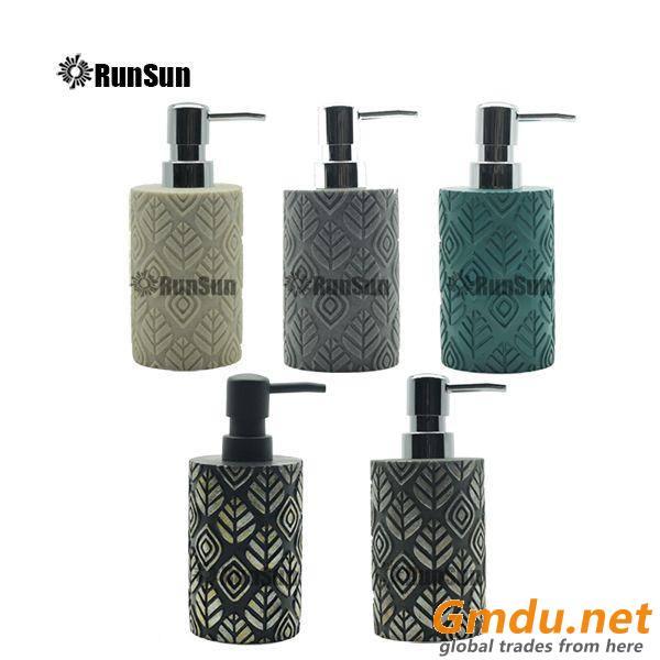 Resin Lotion Liquid Soap Dispenser Pump Bottle