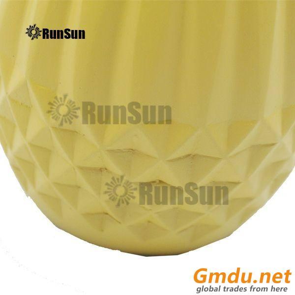 Modern Diamond Polyresin lotion bottle for 4 colors