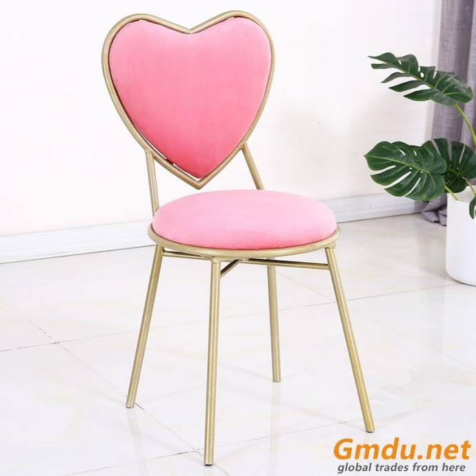 Modern golden leg dining chair