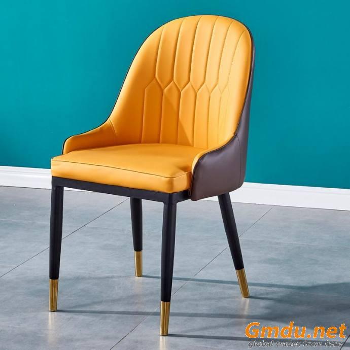 Customizable fabric dining chair