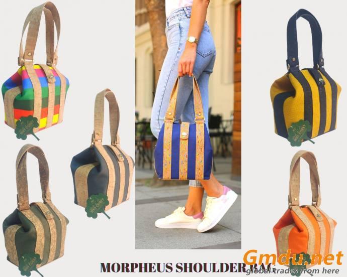 NY Cork Morpheus Shoulder Bag