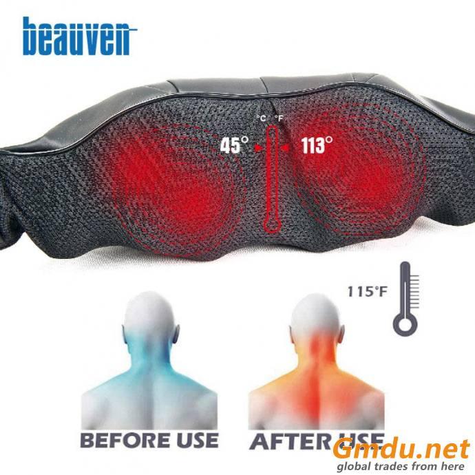 Deep Tissue 3D Kneading Neck and Shoulder Massager