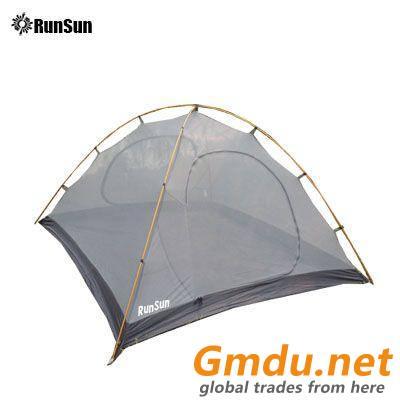RunSun outsunny 4 man tent double layer person bedroom