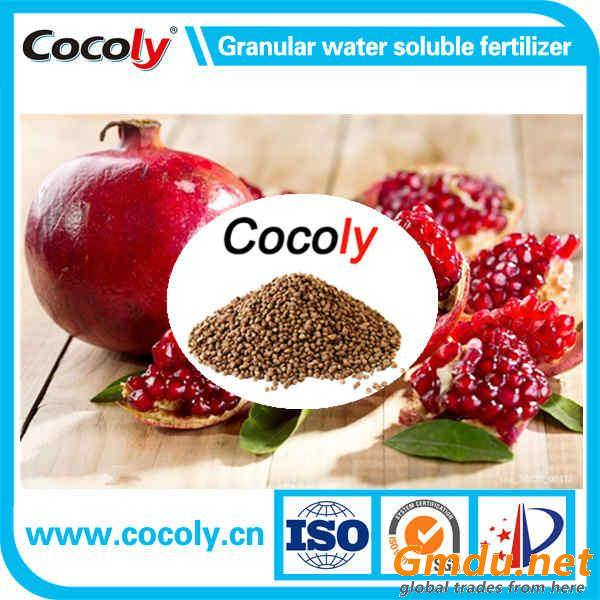 Cocoly 100% water soluble fertilizer granular irrigation