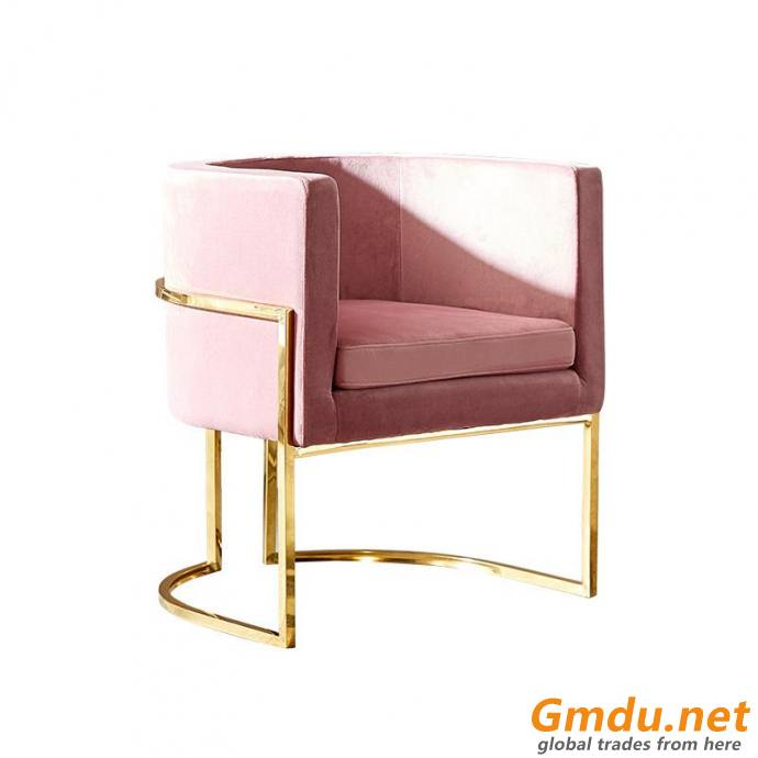 Golden Decoration Legs Dining Chair