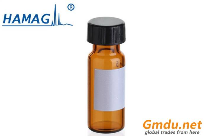 8-425 2ml amber screw top vial with patch