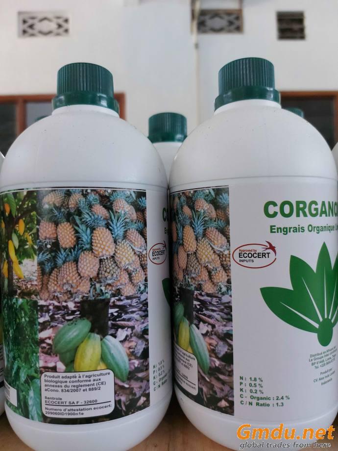 Liquid organic fertilizer