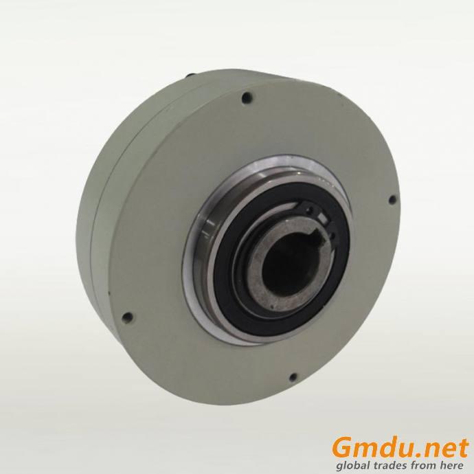 LK thin type magnetic powder brake hollow shaft