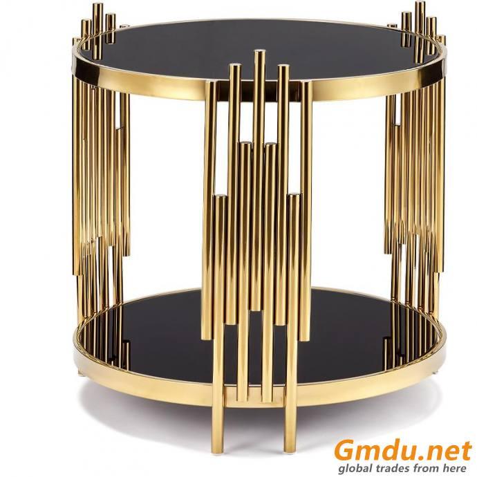2021 metal bracket side table