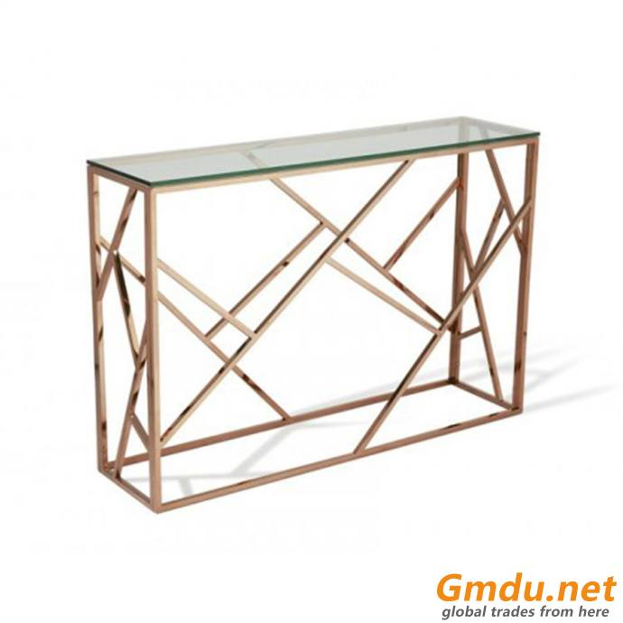 glass marble top tea center coffee table
