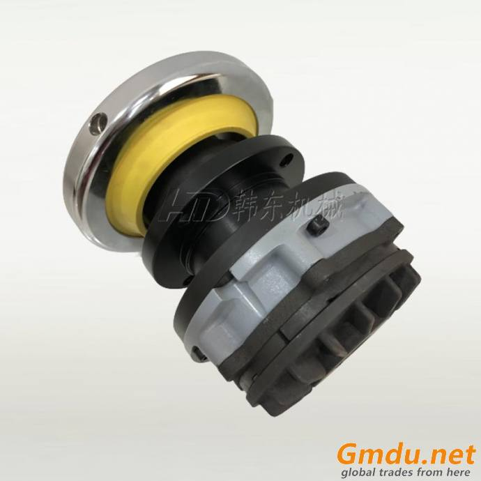 Safety chuck with pneumatic brake for tension control
