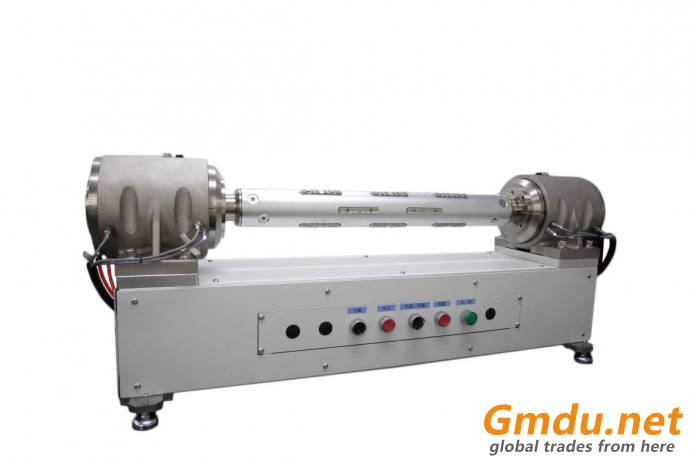 Coiling machine use pneumatic feet support safety chuck
