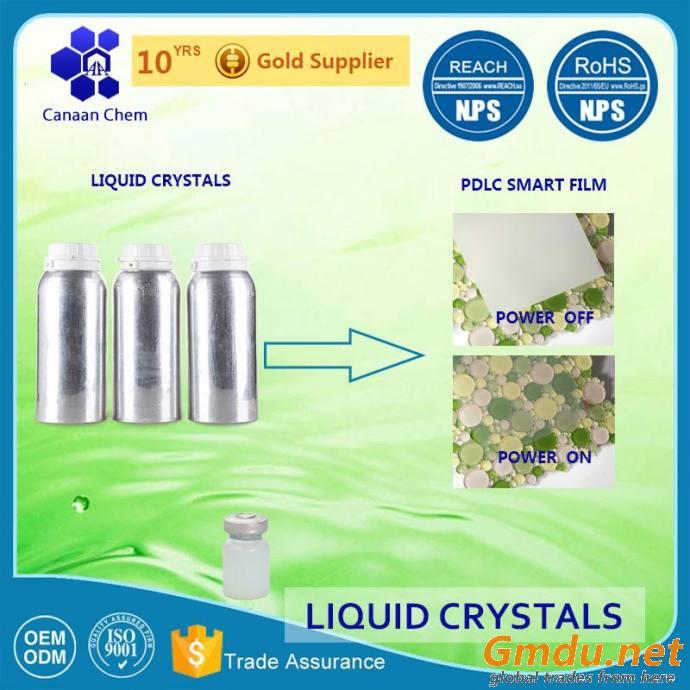 PDLC liquid crystals with wide temperature range