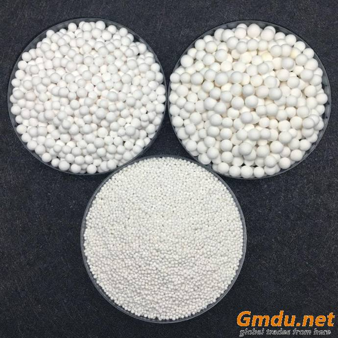 3.0-5.0mm 93% activated alumina oxide ball in air compressor dryer