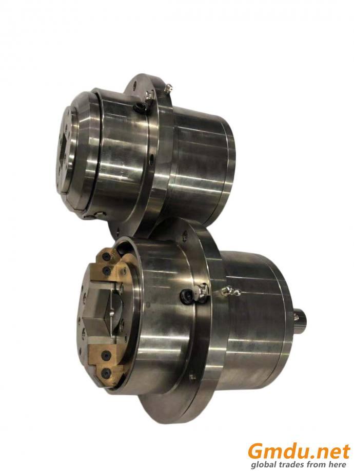 MFLO/W-50 flange mounted pneumatic safety chuck