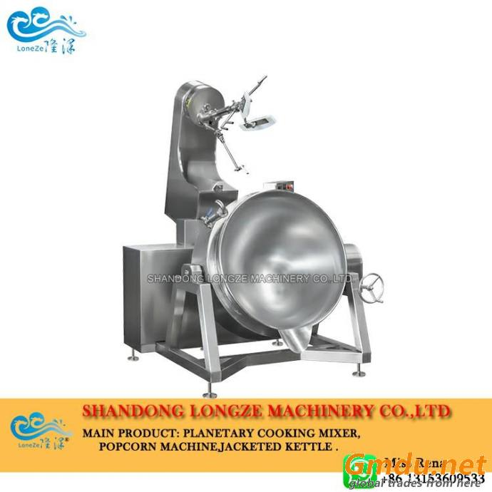 Tilting Jacketed Cooking Mixer Kettle With Stirring 100-600 Liters