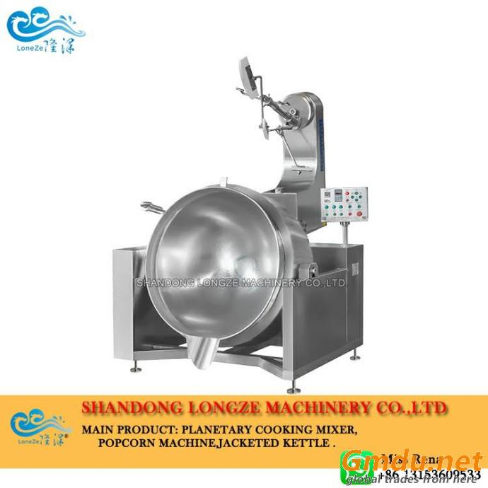 Fully Automatic Industrial Double Planetary Cooking Mixer Machine