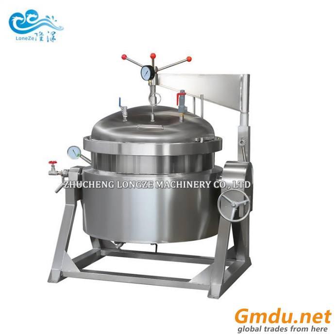Mechanical Flange Type Industrial Pressure Cooking Pot