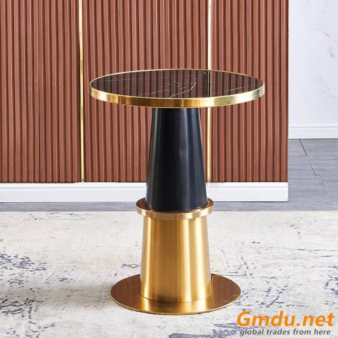 Retractable 80 or 60 round coffee table
