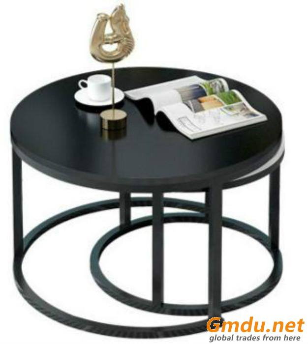 Marble coffee Table Golden Stainless Steel