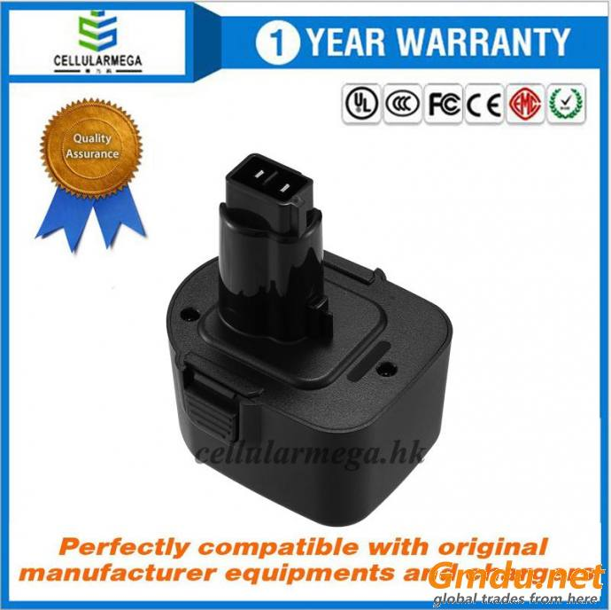12V Replacement Battery for Black & Decker PS130 FireStorm 12-Volt 2.0Ah Pod Style Battery