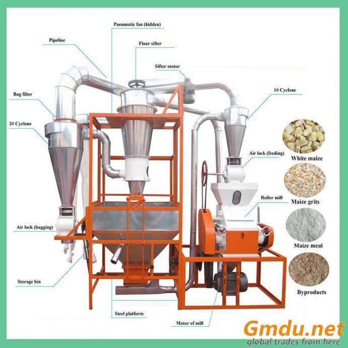 5T Wheat Flour Mill