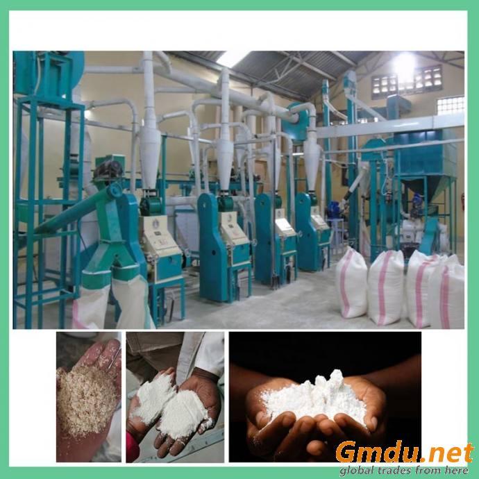 30T Maize Mill Machine