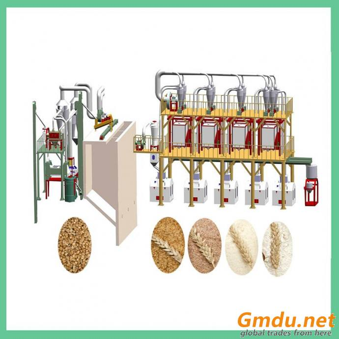50T Wheat Flour Mill