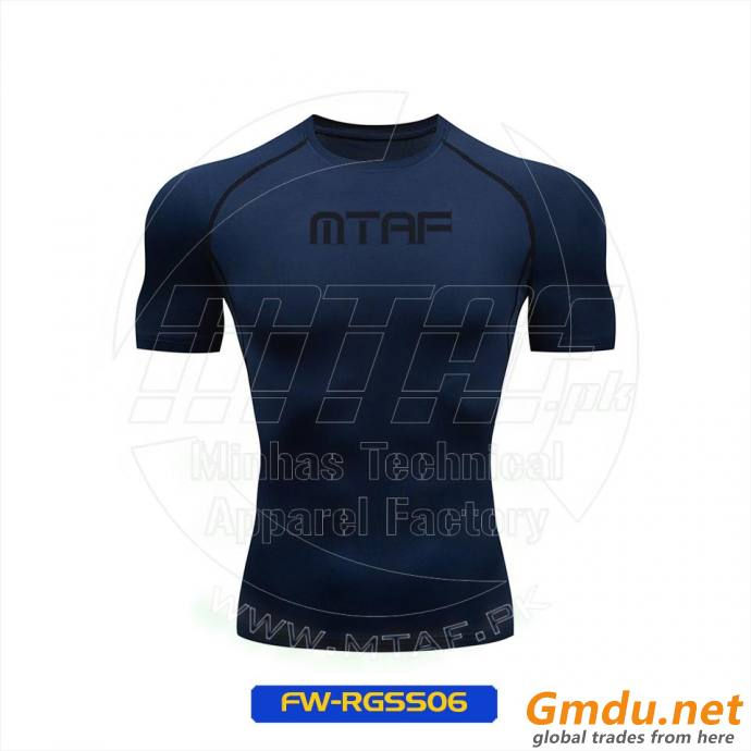 Gym Shirt Compression, Custom Men Compression Tights Body Protection Base Layer