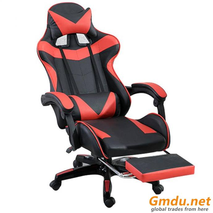 high back red gaming chair