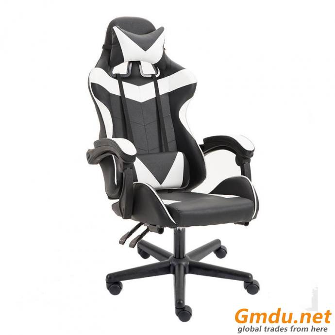 Reclining office gaming chair
