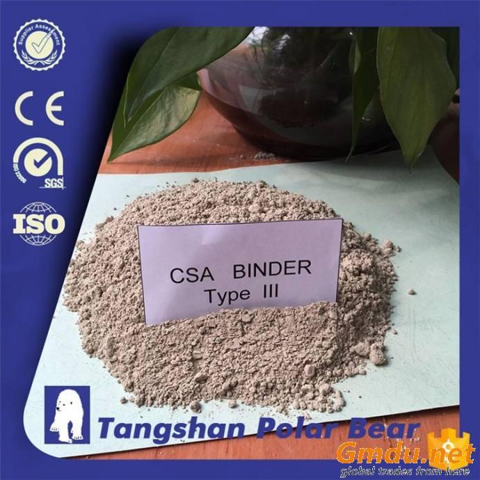 CSA binder type 3 grade 72.5 cement clinker