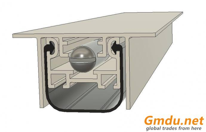Automatic drop down seal TFP 38x20