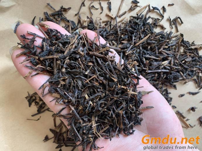 Stalk black tea raw tea earl grey bergamot cardamom flavor tea