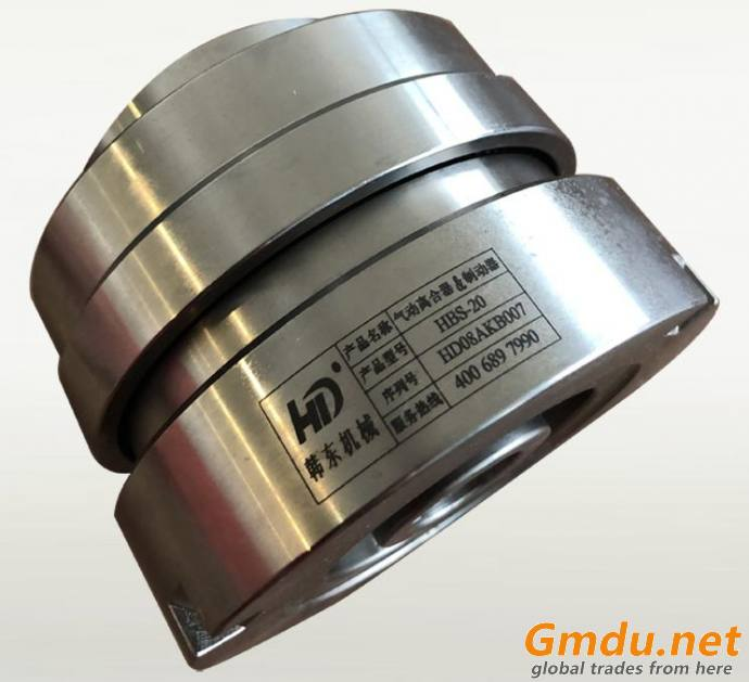 HBS-20 pneumatic inside and outside tooth clutch