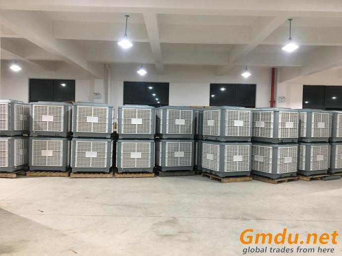 1.1KW 18000 m3/h single phase 220V 50HZ /60HZ evaporative air c